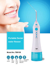 China Professional Dental Oral Irrigator , Rechargeable Water Jet Flosser Teeth Pick Cleaner Tooth Spa supplier