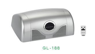China Easy Clean Portable Compressor Nebulizer GL188 Car Air Purifier King - Double Filtration supplier