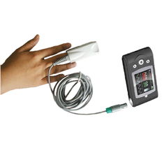 China Light Weight Fingertip Sensor Pulse Oximeter Convenient In Carrying supplier