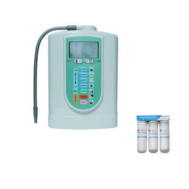 China 3 plates 6.5kgs Alkaline Water Ionizer with optional prefilters distributor