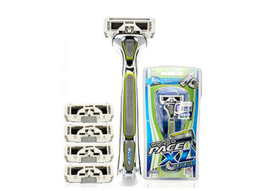 China Stylized Rubber Grip 6 Blades men razors SXA5000 with Sculpting Trimmer factory