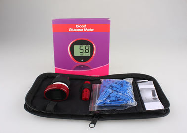 China Fast test Blood Glucose Test Meter Diabetic Glucose Monitor with lancet distributor