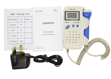 China Jumper Handheld Pocket Digital Fetal Doppler JPD-100B 2.5MHz Home Use Baby Heart Rate Detector Monitor with Rechargeable distributor