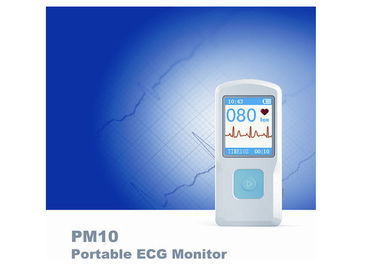 China PM10 Handheld Bluetooth Mobile Ultrasound Machine LCD display ECG EKG Electrocardiograph distributor