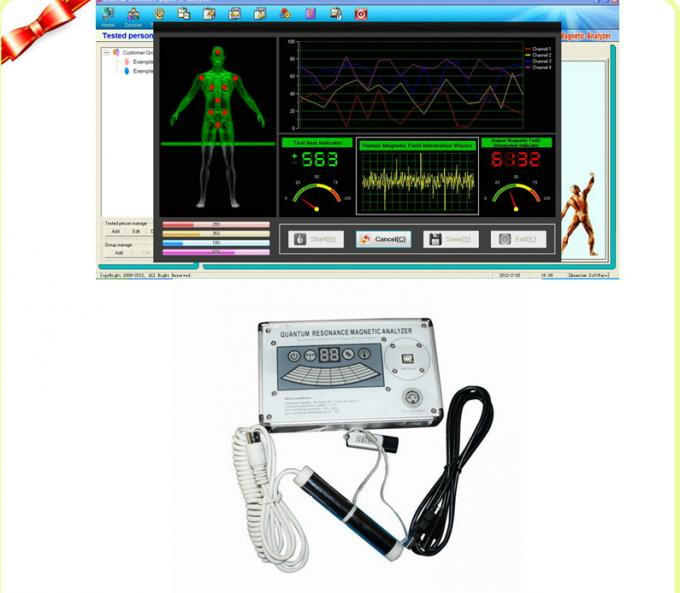 Resonance Magnetic Quantum Bioelectric Whole Health Analyzer English 39 Reports