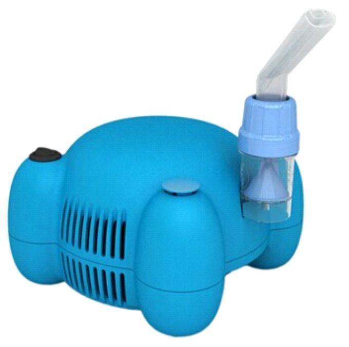 Blue Dome Structure Portable Compressor Nebulizer Low Noise FC05B